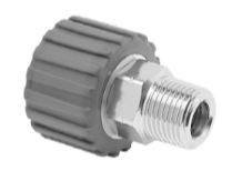 Mosmatic 70.051 Swivel Coupling, grey, stainless DKS M21x1,5-F 1/4 in. NPT M