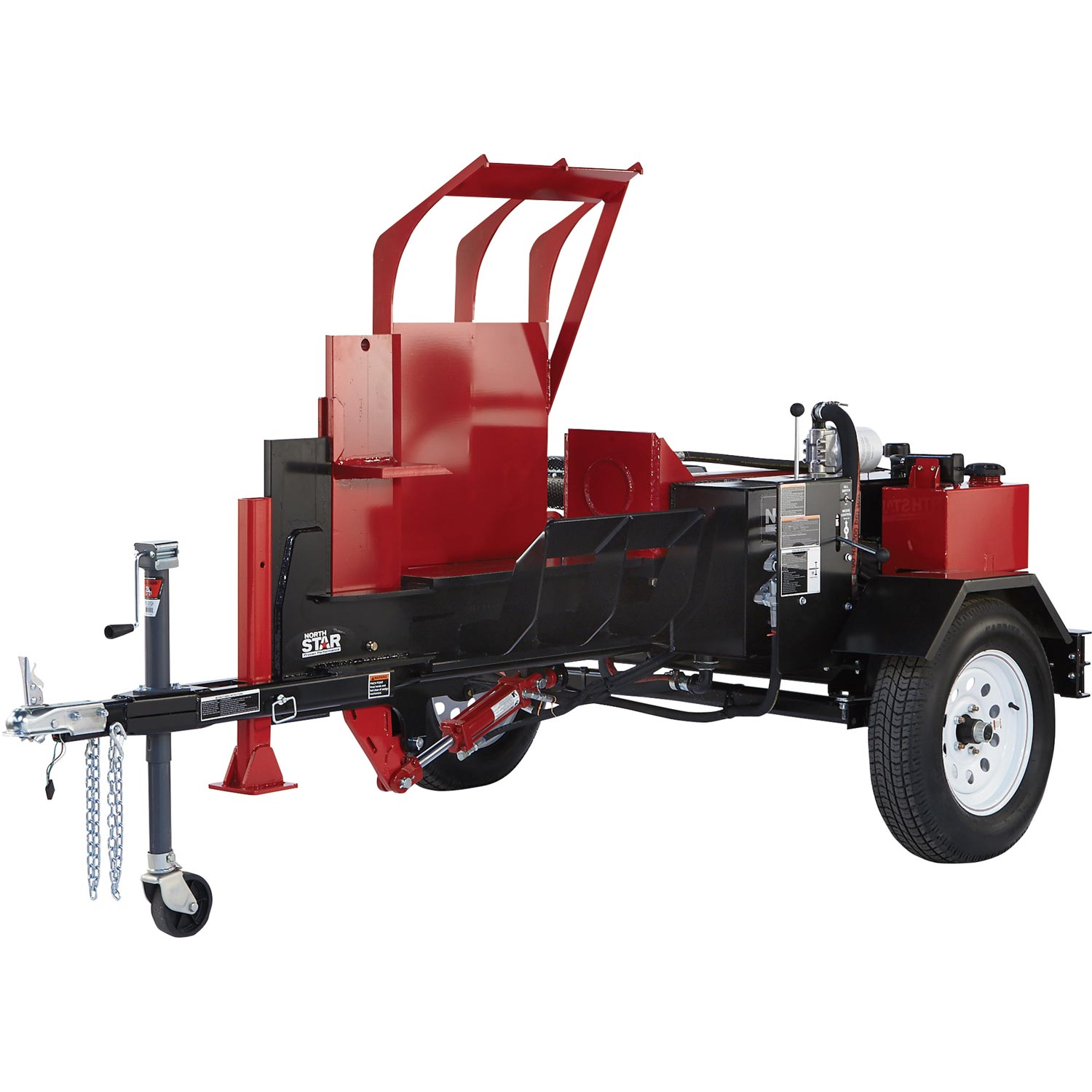 NorthStar 11967 Horizontal Log Splitter w/ Log Lift 42-Ton Honda GX630 Engine