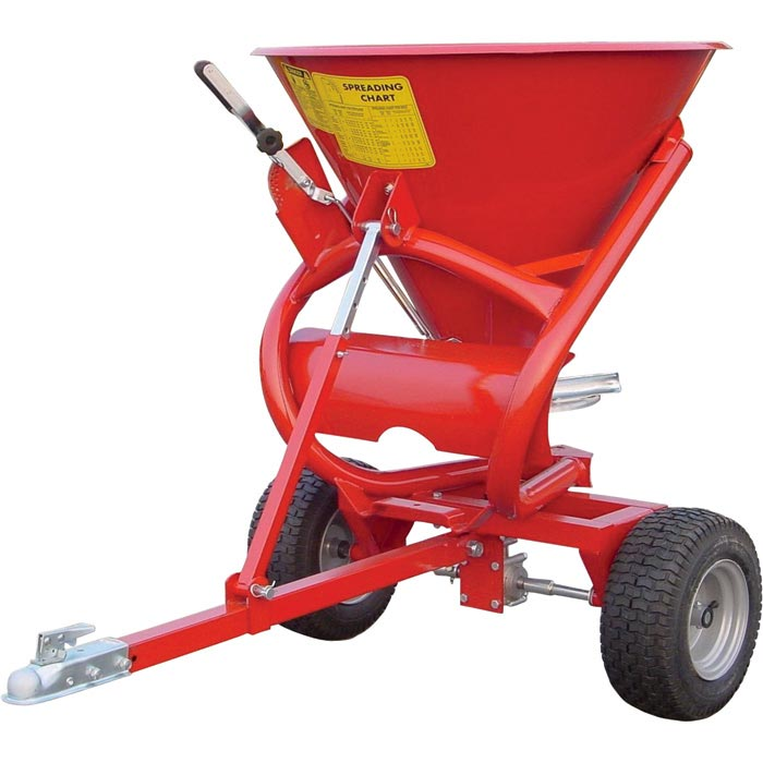 King Kutter ATV Seeder/Spreader — 350-Lb. Capacity, Model# S-ATV