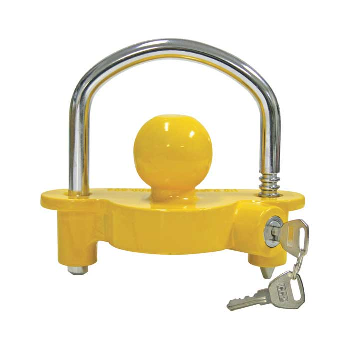 Reese UTL100 Universal Trailer Tongue Lock - Helps Prevent Theft