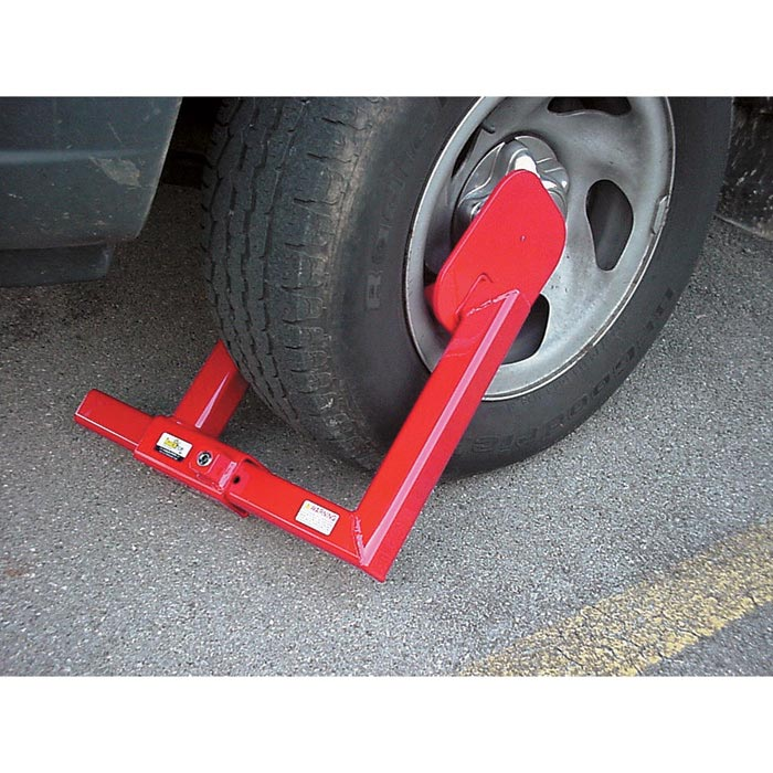HDWL Trailer Wheel Boot Lock For Theft Prevention Equipment Lock Company 103779