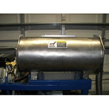 Blue Baron Axis Point Truck Mount Heat Exchanger 18in X 8in Rated 3500 psi Stainless Steel HTRSQ142