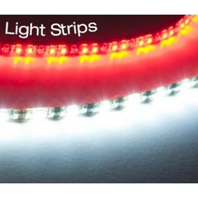 Truckmount LED Light Strips Dual 30 Inch Long 3 color