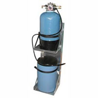 Hydro-Force: Carpet Cleaners Compact Water Softener w/ Automatic Recharge and Brine Tank AC40B (Small)