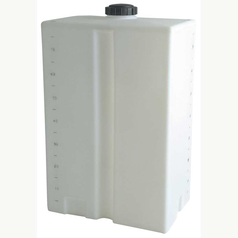 Clean Storm 80 Gallon Vertical Fresh Water Tank Small