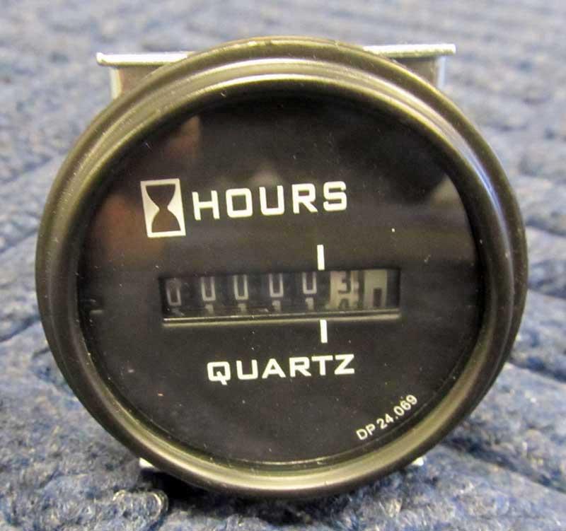 12 Volt Hour Meter : Shazaam truckmount hour meter v dc hr meters and