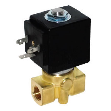 Clean Storm 20131311 Solenoid Valve 12 Volts 250 degree 1000 Psi 1/2in Fip