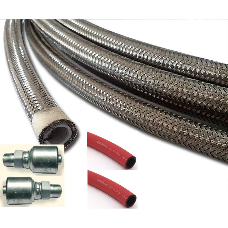 Clean Storm Ultimate Pressure Washer Hose 3/8in ID X 100 Ft 500 degree F 2500 psi T1167