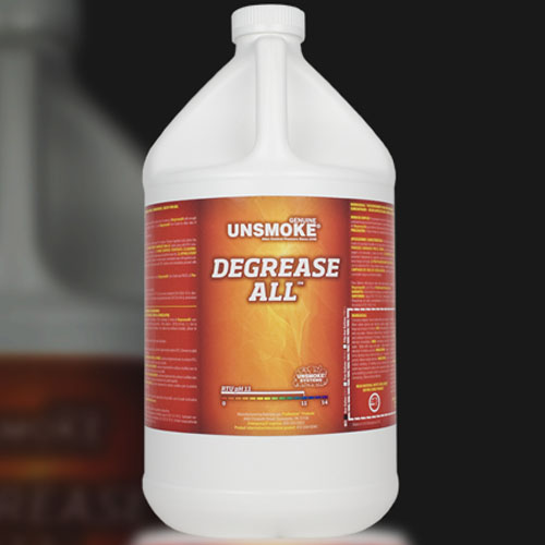 Chemspec Prorestore OdorX Degrease-ALL 4/1 Gallon Case Unsmoke Half Price Shipping