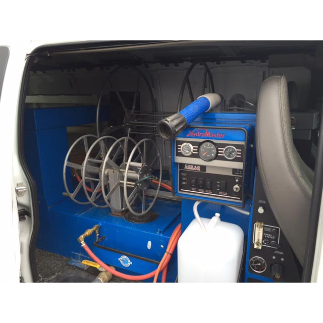 Used HydraMaster CDS 4.8 Overdrive with Salsa and 2013 Chevy 1 ton Van $415000