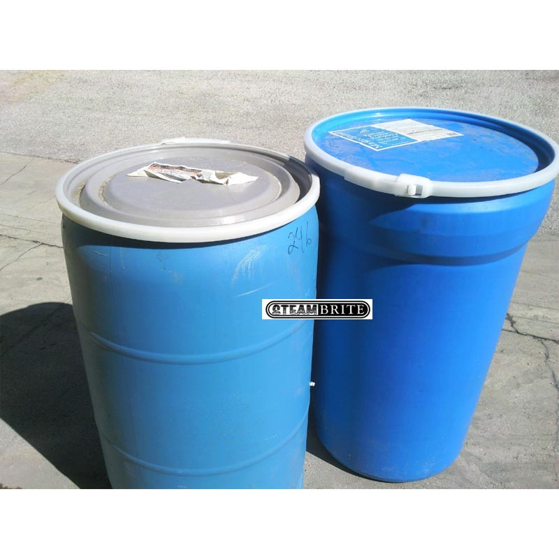 Used Locking Lid Plastic Drum 55 Gallon Barrel San Antonio