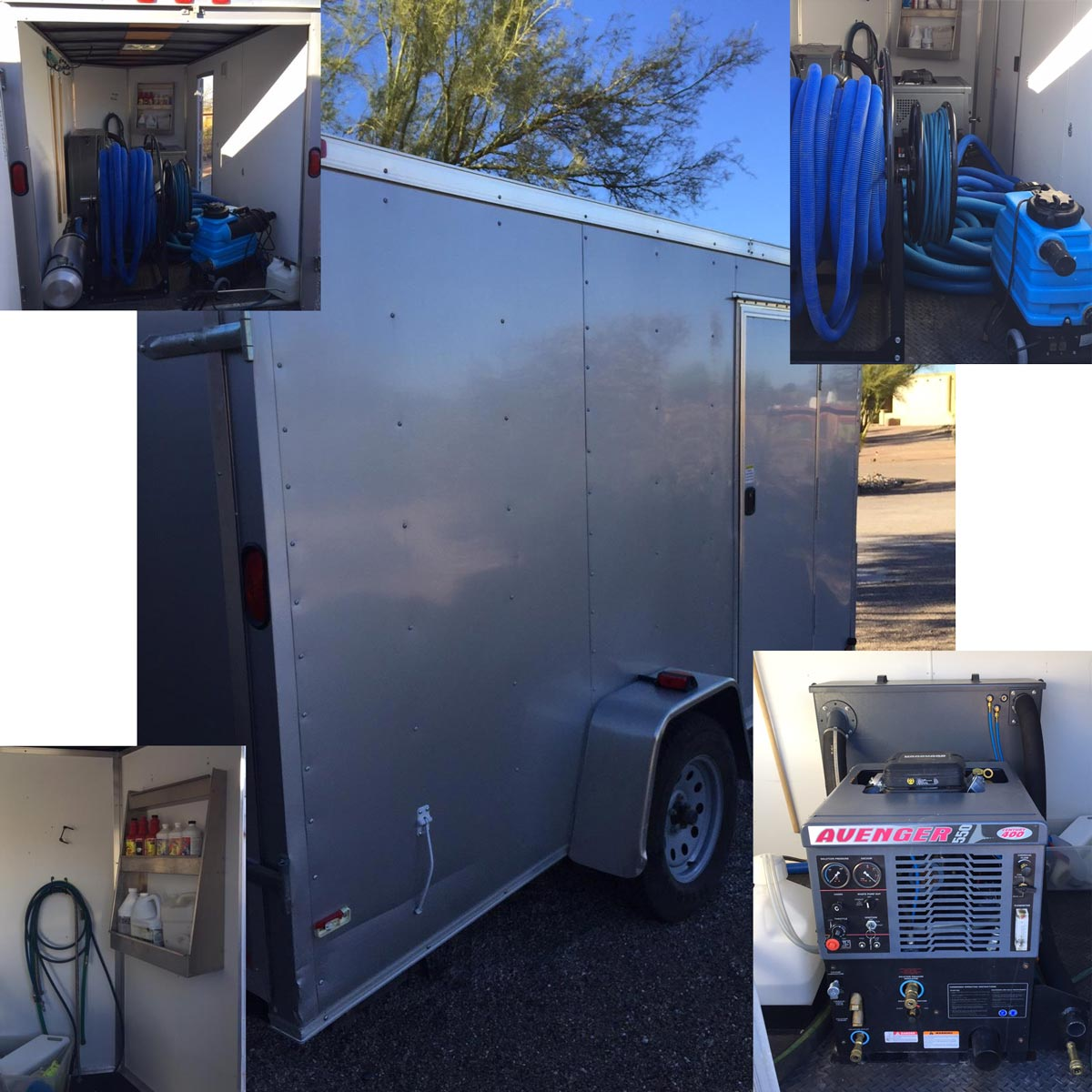 century 400 truckmount and trailer start up package 110 hours