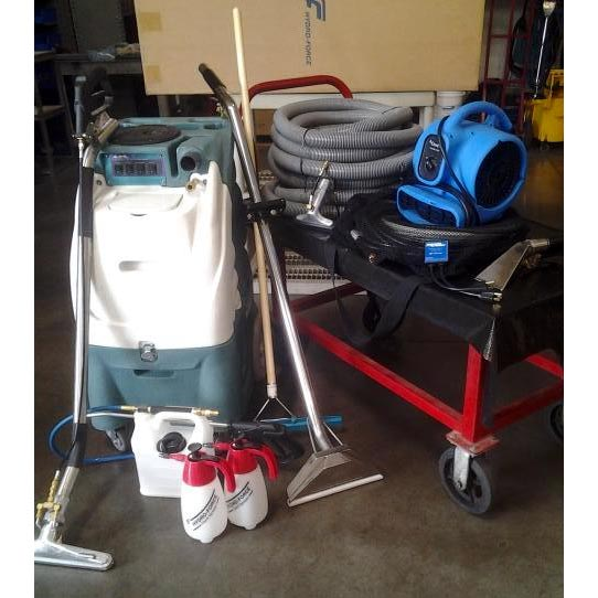 Used Hydro-Force Olympus M500H 500psi HEATED Dual 2 Stage Vacs Starter Package $2900 AZ17747