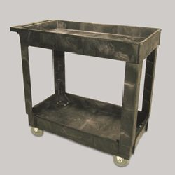 C-2 SHELF UTILITY CART 4 CASTERS 300LB CAP.