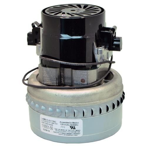 Ametek Lamb 116551-50  120V Vacuum Motor, By-Pass Design, 2 Stage, 4.8in dia. (8.602-675.0) AV06