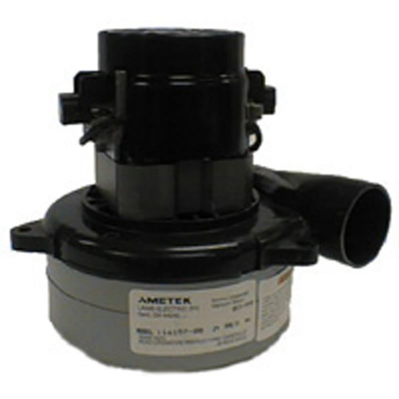 Ametek 119412 08 120v vacuum motor tangential discharge 2 for 2 stage vacuum motor