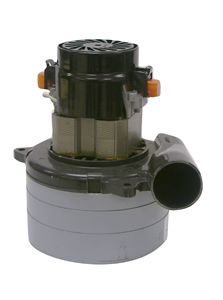Ametek Lamb 117446-29 Vacuum Motor 3 Stage 120V 5.7in Tangential W/ Intake Tube on Bottom