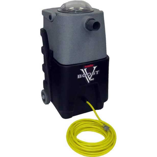 KleenRite Hose Mount Vacuum Booster 6.6 Inch 1 stage Extra Large