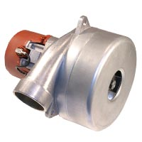 Domel 4913422 Vacuum Motor 2 Stage 5.7in Metal Horn By-Pass 491.3.422