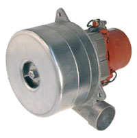 Domel 4913750 Vacuum Motor 3 Stage 5.7in Metal Horn By-Pass 491.3.750 (Formerly 491.3.752)