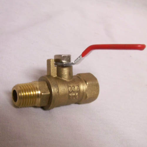 Ball Valve KBV-2: 1/4in Mip Male X 1/4in Female Fip Brass Short Handle 8.709-249.0  948170