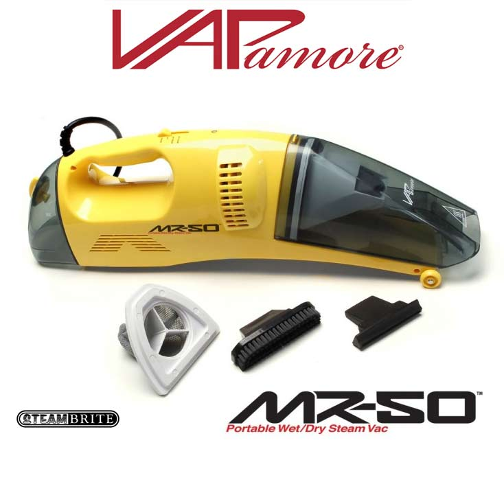 Vapamore MR-50 Hand Held Vapor Steam Cleaner with Vacuum