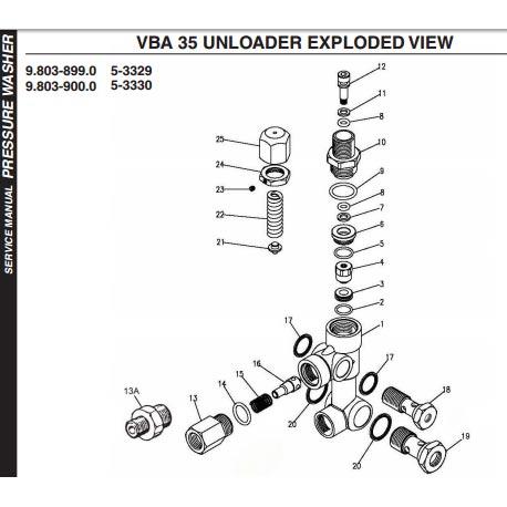 Karcher Kit Stem Unloader Vba 8 717 674 0 70