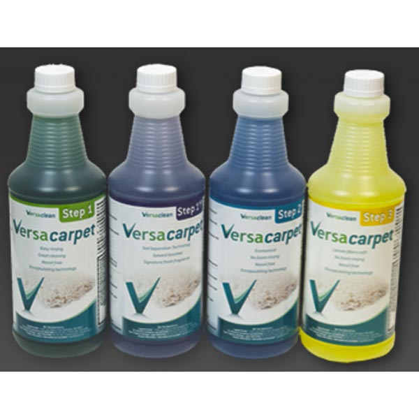 Chemspec VersaClean VersaCarpet 76-460 Step 1 Traffic Lane Cleaner Case Quarts