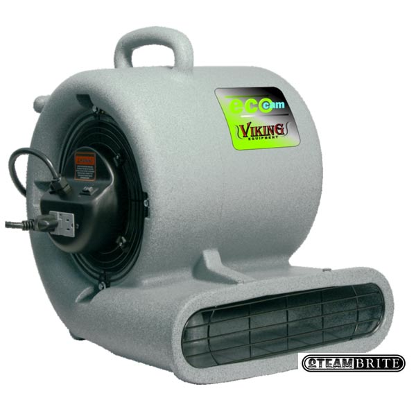 Viking ecocam pro gfci air mover equipment carpet flood for Pro equipement restauration