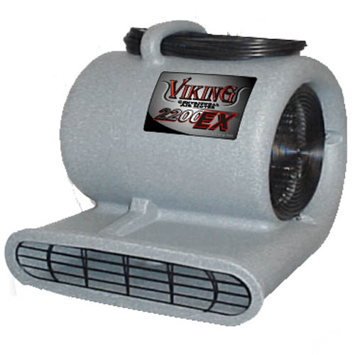 Viking V-Cam-Pro GFCI Air Mover Equipment Carpet Flood Restoration Fan 1.9 amp