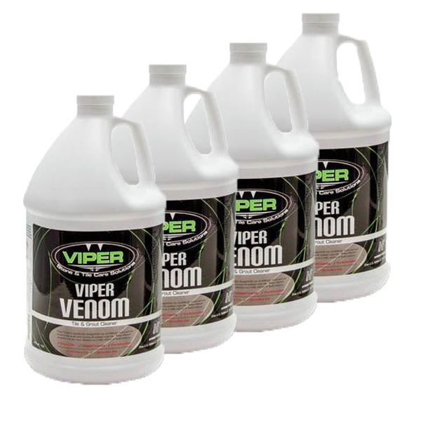 HydroForce CR22GL-4 Viper Venom Tile and Grout Cleaner 4 Gallon Case