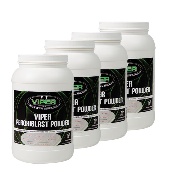 HydroForce CH48A Viper Peroxiblast Powder - Case of 4x - 7.5lb Jars