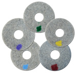 Innovative Surface Solutions: Viper Spinergy Diamond 17 Inch Monkey Pads Set Of 7 Pads 200, 400, 800, 1500, 3000, 8000, 11,000 Grit FREE Shipping