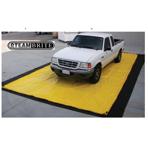Hydrotek ZBPAD Wash Down Pad 12 ft X 25 ft with underlayment pad