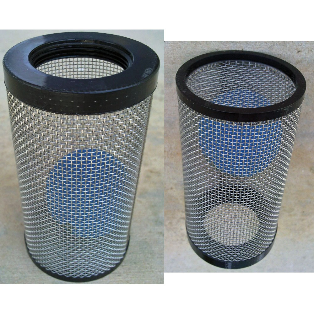Waste Tank Filter And Ball Float Assembly for Carpet Cleaning Machines Cage 1-1/2""