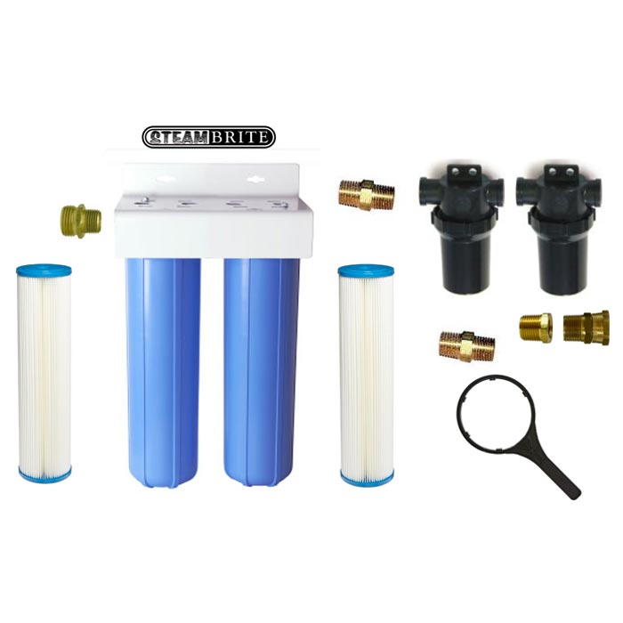 Clean Storm Filter Reclaim Quad Filter Pack 80 Mesh to 5 microns for Water Reuse 20141820