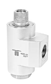 Mosmatic 43.272 90° Swivel, stainless WDBS-10 3/8 in. NPT F 3/8 in. NPT M