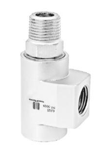 Mosmatic 43.373 90° Swivel, stainless WDCS-12 1/2 in. NPT F 1/2 in. NPT M