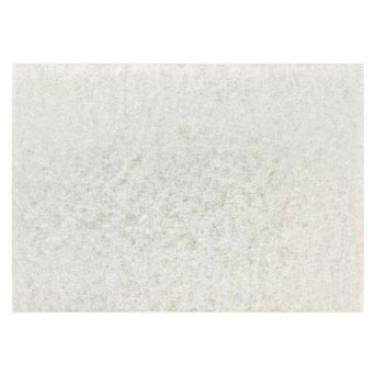 Powrflite WT1420 White Polishing 20 X 14 inch Pad 5 Pack