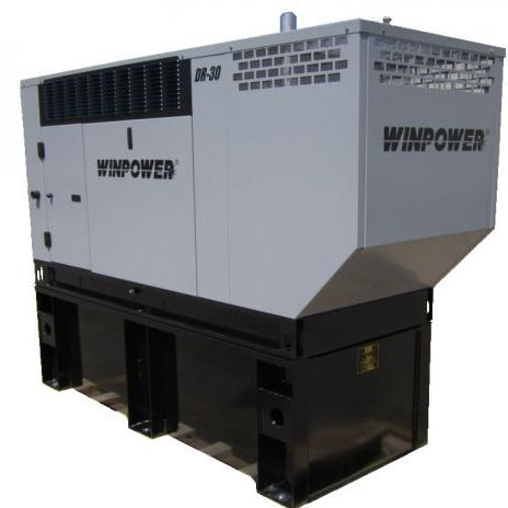 Winco DR30I4 Emergency Standby Generator 47hp Liquid cooled Diesel 30kw 1800rpm    Free Shipping