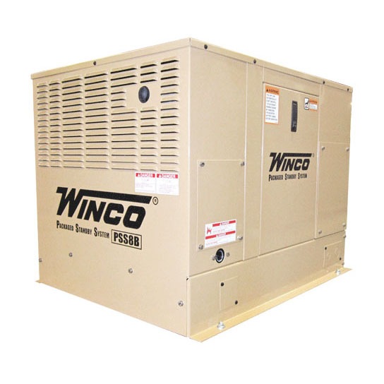 Winco PSS8B2W Emergency Standby Generator Air Cooled ( Previously PSS8B4W)