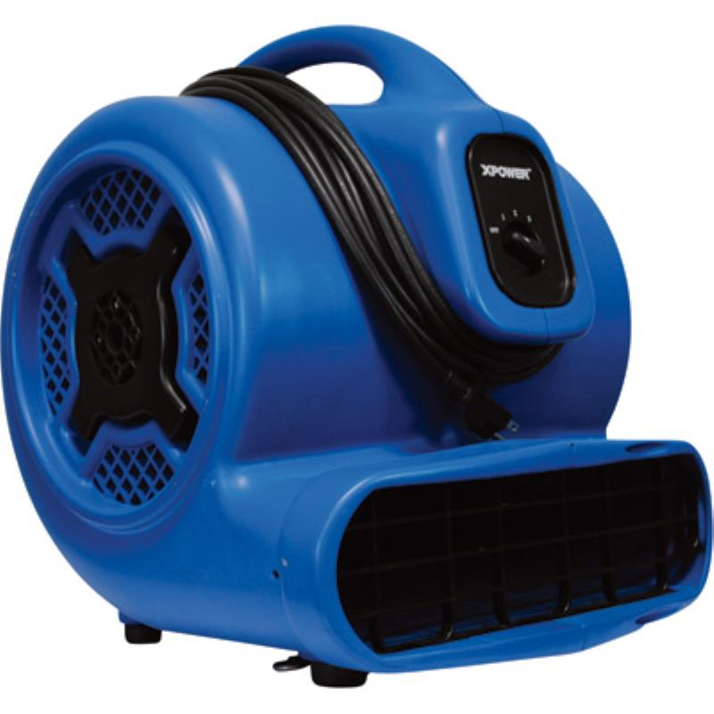 XPower P830 Carpet Restoration Air Mover 1hp 3600cfm 8amp