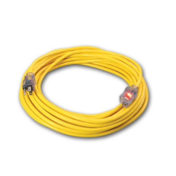 Extension Power Cord 14-3 X 25 feet Heavy duty Lighted Ends Mytee E532  D16614025  SW141  315-05 [201100812] D11714025YL