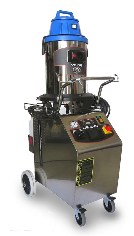Steam and Vacuum Vapor Auto Detail machine Imex Serve 09Evo