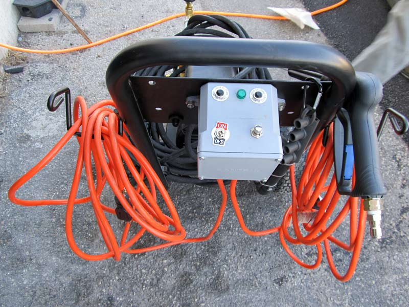 dual power cord pressure washer