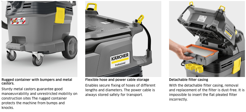 karcher Nt50  1.148-416.0 hepa shop vacuum