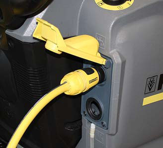 Karcher b 40 c auto scurbber power cord connection
