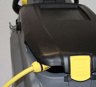 Karcher b 40 c auto scurbber hood closed