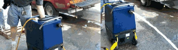 automatic drain and discharge 30 gpm pump out