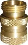 brass garden hose QD